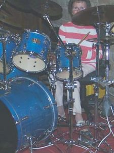 Aid for drummer