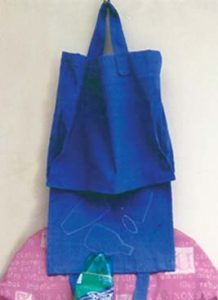 Carrying aid for recylable items