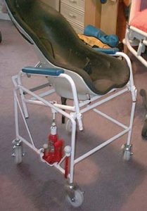 Commode trolley