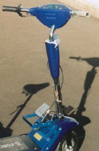 Modification of electric scooter