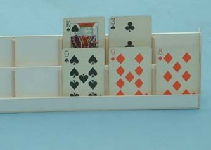 Playing card holder 1