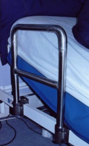 Provision of adjustable bed rail