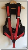 Two harnesses attached
