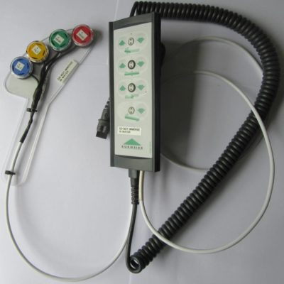 Bed controller with special button handset added