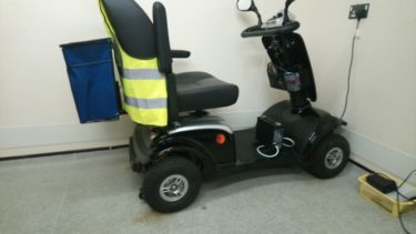 His mobility scooterbore modification