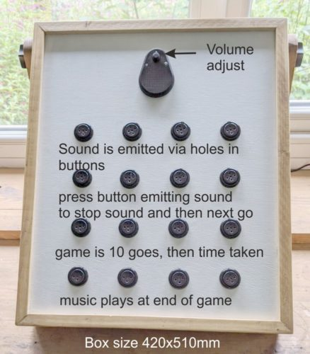 sound game console
